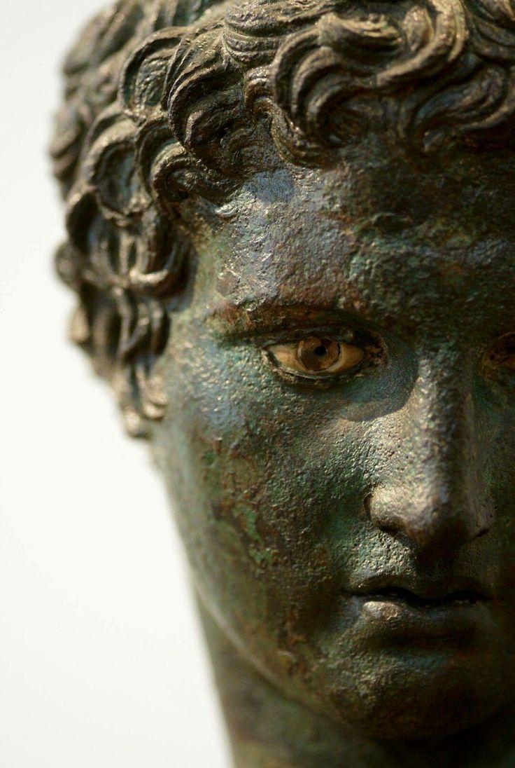 Marathon Boy. 340 BC Arcaeological Museum of Athens. This