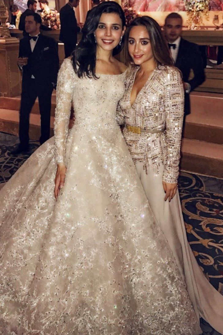 This Turkish Bride's Wedding Dress Looks Like a Work of Art Just Sitting on the Hanger