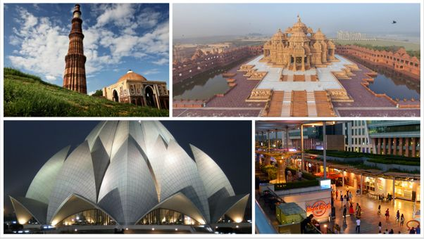 Delhi is a historical city and walks around the city are lovely. Catch a glimpse of the varied places to visit in new Delhi. explore the comprehensive list of top places to see in new Delhi. Visit famous monuments and historical spots located in National capital. #travel #cleartrip #holidays #vacation #delhi #enjoy