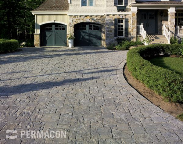 Amalfi Paver Range Norvick Grey Permacon Ca Available At