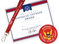 Complete the President's Fitness Challenge. I never achieved this in high school, but I'm in better shape now.