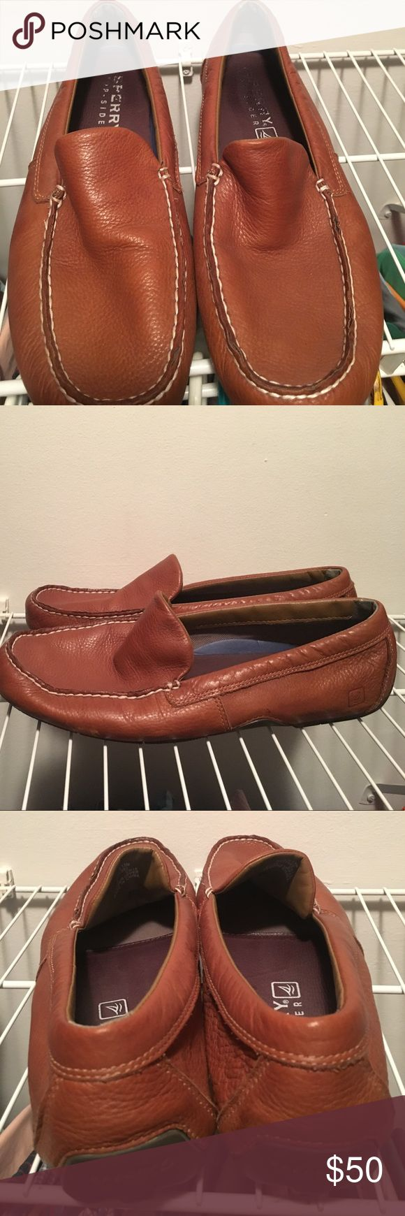 Men's Sperry Top Sider Loafers Barely worn! Men's tan Sperry Top Sider Loafers. Sperry Top-Sider Shoes Loafers & Slip-Ons