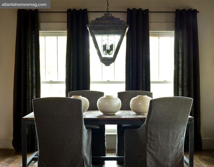 Like The Colors And The Lantern · Casual Dining RoomsAtlanta HomesHome  ToursInterior IdeasInterior ...