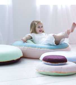 Covers for inflatable rings by Ariadne at Home, Styling Linda van der Ham, Photo Bart Brussee