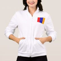 Armenian Women's California Fleece Zip Jogger 1 Jacket