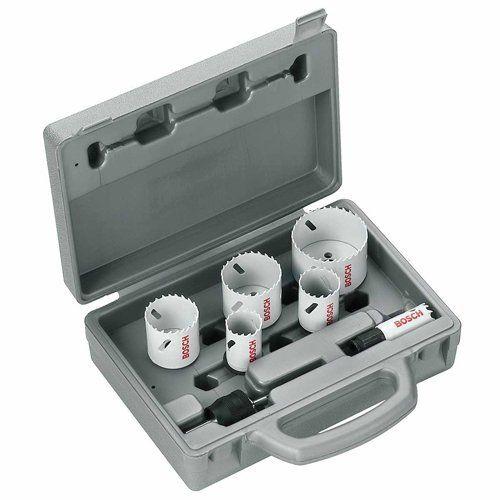 Bosch 2608584670 Coffret scie cloche Acier rapide 6 pièces: Price:36.82Set de 6 Scies-trépans Progressor et 3 accessoires ø 20-64 mm BOSCH…