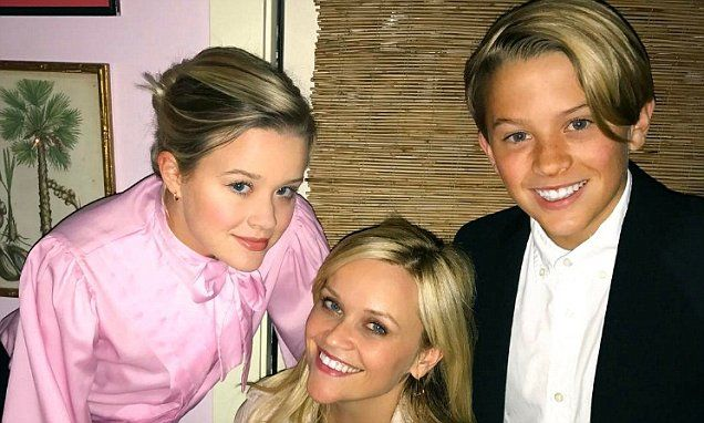 Reese Witherspoon celebrated turning 41  on Wednesday. But apparently there was no better present than spending her special day with her beautiful children.