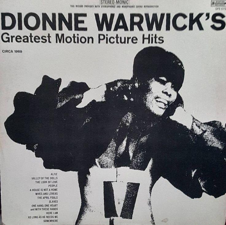 Dionne Warwick Vinyl Lp In 2020 Dionne Warwick Warwick Vinyl