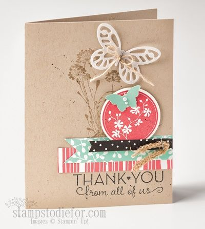 Scerene Silhouettes stamp set & Bold Butterfly Framelit #stampinup #butterflies www.stampstodiefor.com