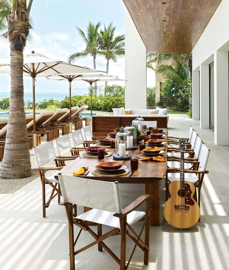 """Every house tells a story, and in Los Cabos, on the southern tip of Mexico's Baja peninsula, a pair of vacation homes stand side by side as a testament to a remarkable friendship—the one that George Clooney shares with Rande Gerber and his wife, Cindy Crawford. The name of this compound, Casamigos—or House of Friends—says it all. """"We've been hanging out for 20-something years,"""" says Gerber, a nightlife entrepreneur who now focuses on his tequila-and-rum company, Gerber Spirits. """"Long before…"""