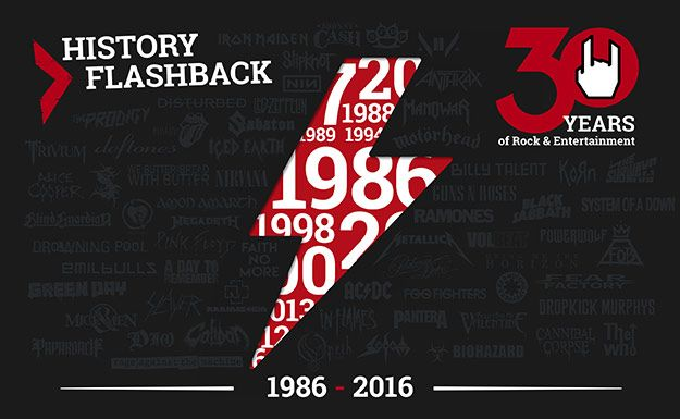 30 years of EMP: history flashback 1989-1991