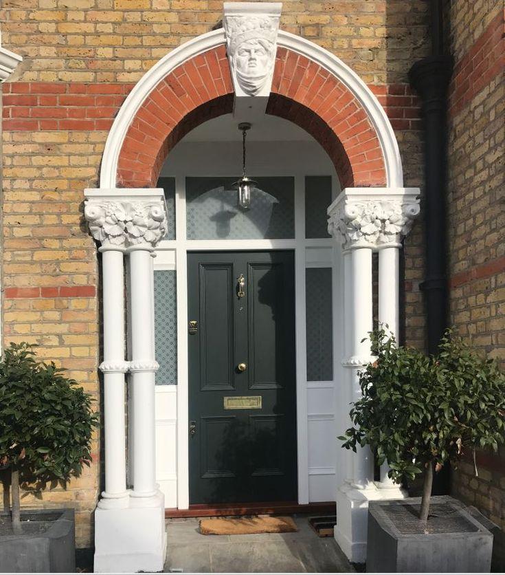 Beautiful front door in north London