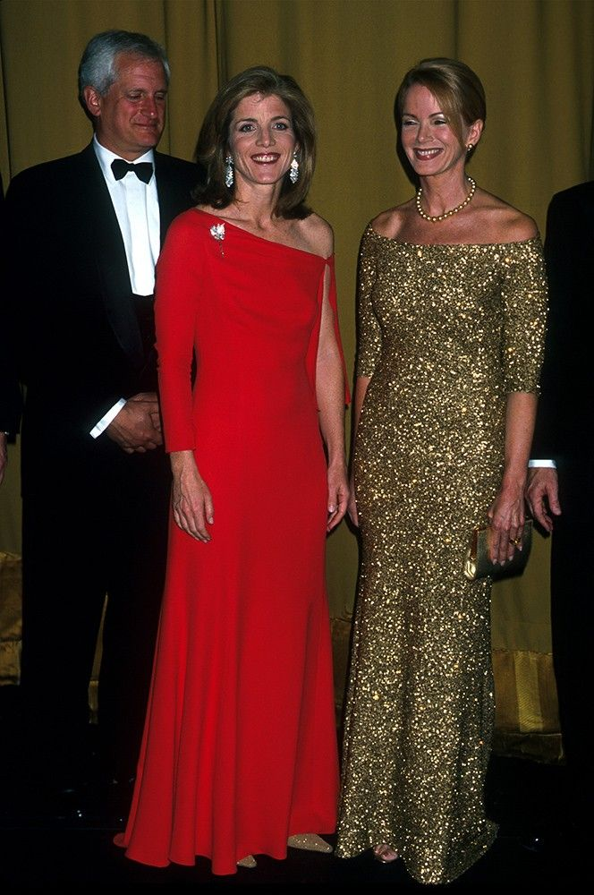Caroline glows in this crimson gown as she and her husband attended a gala benefit for the American Ballet Theater. via @AOL_Lifestyle Read more: http://www.aol.com/article/2013/07/25/caroline-kennedy-a-class-act-going-to-japan/20526838/?a_dgi=aolshare_pinterest#fullscreen