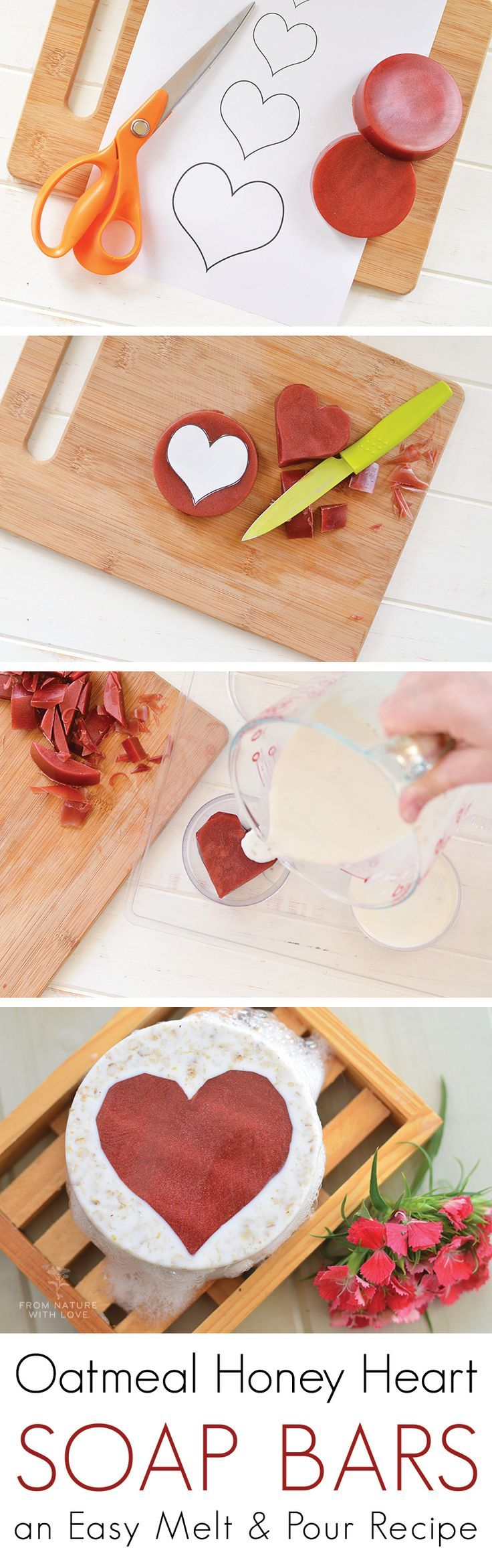 The 25+ best DIY Valentine\u0027s soap ideas on Pinterest | DIY soap ...
