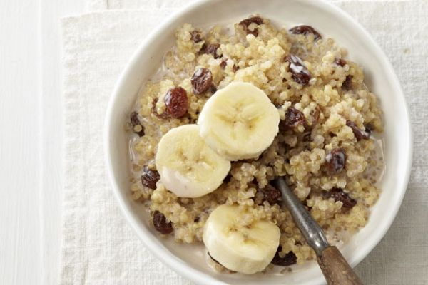 """Breakfast Quinoa Bowl - going to try this with my Youngest.  He has a """"Healthy Bingo"""" sheet to fill out and needs to try quinoa."""