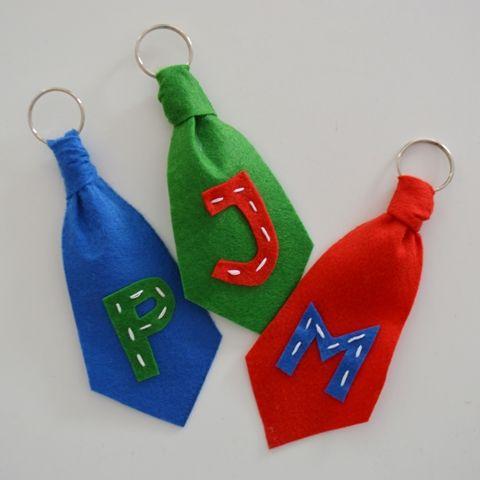 Porta-chaves gravata RosaPomposa