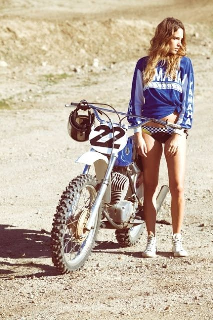 Beautiful Old Dirt Bike - Classic Beauty!