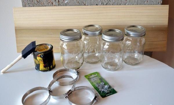 tarros de cristal para almacenar mason jar