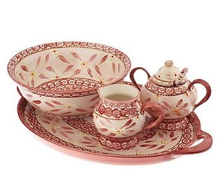 Dinnerware Completer Set from Temp-tations. A gift for your best friend or a  sc 1 st  Pinterest & 241 best QVC images on Pinterest | David venable David qvc and Hero
