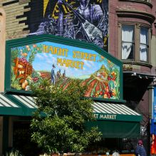 1524 Haight Street at San Francisco was the home of Jimi Hendrix. Today it accomodates tobacco shop and grocery store just few blocks away from legendary Haight-Ashbury intersection  that inspired the neighborhood's name. © Miikka Järvinen 2013