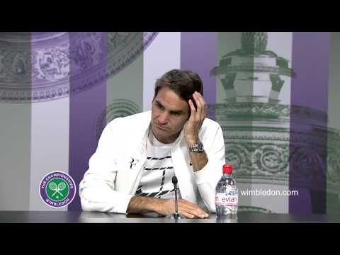 "Federer on Wimbledon: ""I Still Think I had a Great Tournament"""