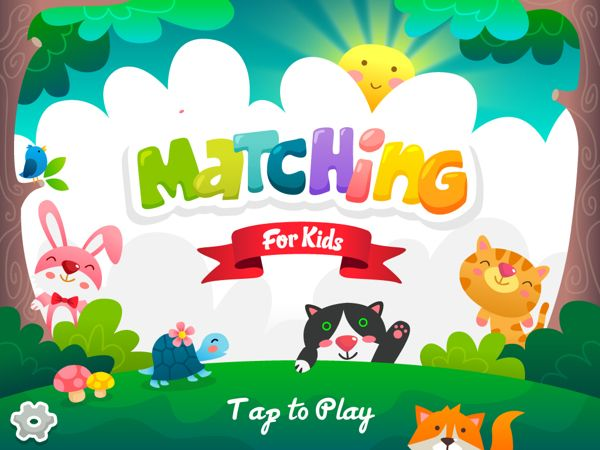 Matching For Kids - New Project by Phich To, via Behance