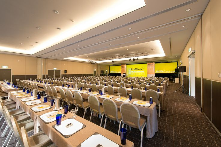 Conferencing in the Semillon Ballroom