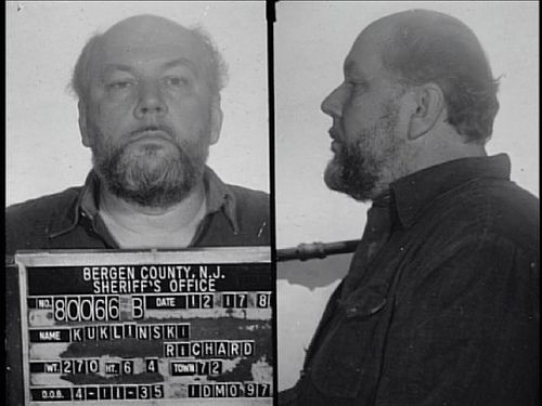 Richard the iceman Kuklinski, oooh Scary guy. HBO had a special on him, The Ice Man. Described what he did in detail like it was a day going to the mall. Especially leaving his wife and children on Christmas day to go kill someone, then coming back and playing with the kids.