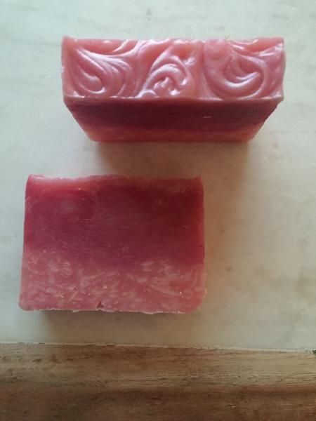 Pink Splash Handmade Soap