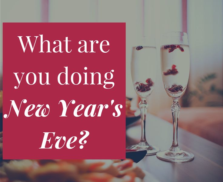 What are your New Year's Eve plans? We'll be enjoying the time with our families! Wishing everyone a safe and happy new year! Comment below what your plans for New Year's Eve are! #NYE2016 #newyears