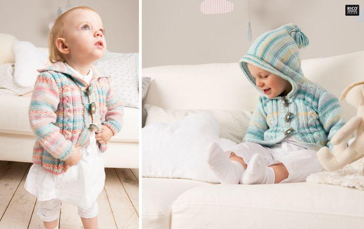 Rico Design - Babyjacke mit Kapuze stricken
