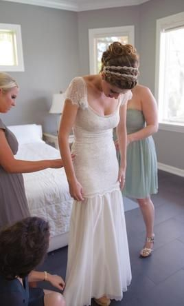 Grace Loves Lace Emme, no train 4: buy this dress for a fraction of the salon price on PreOwnedWeddingDresses.com #wedding #mybigday
