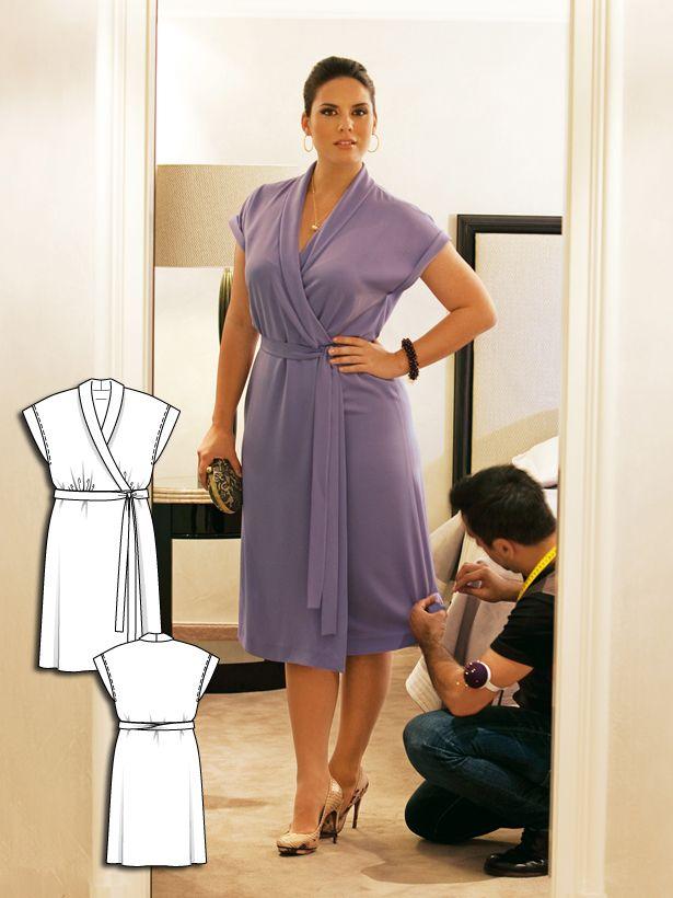 Wrap Dress (Plus Size) 02/2011 #139