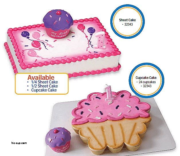 Incredible 1St Birthday Walmart Bakery Cakes Cupcake Cakes Sheet Cake Funny Birthday Cards Online Alyptdamsfinfo