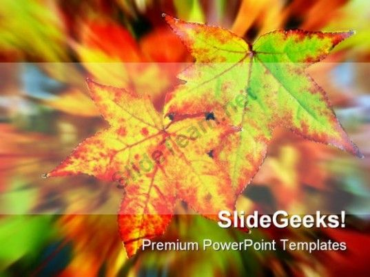 23 best mural ideas images on pinterest autumn leaves fall leaves autumn leaves nature powerpoint template 0610 powerpoint templates themes background toneelgroepblik Choice Image