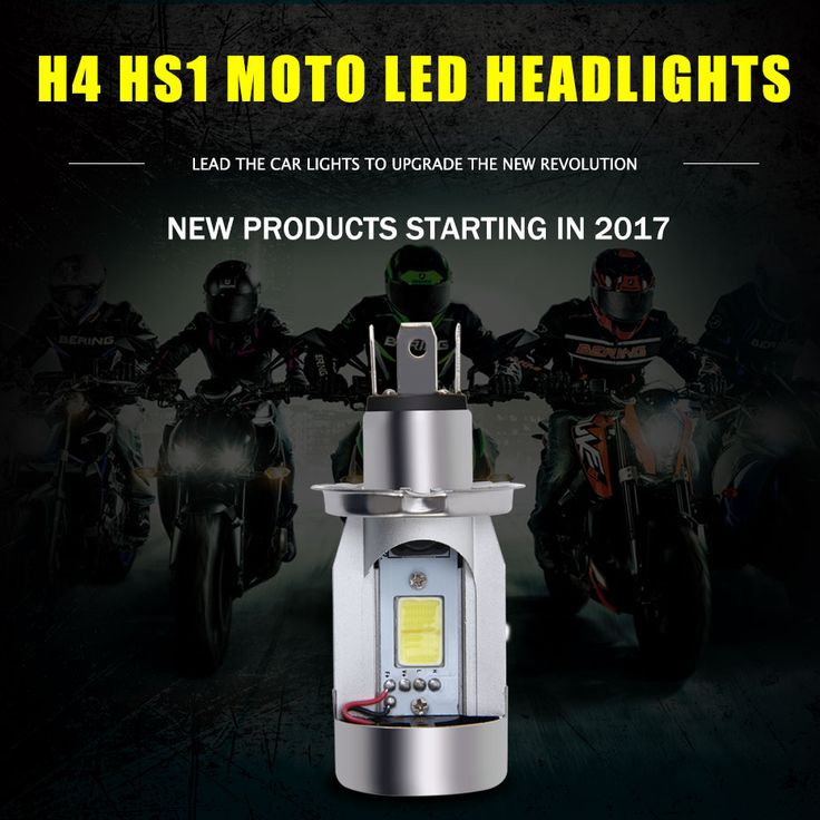 New HS1 H4 Led Motorcycle Headlight Bulbs 20W 2000LM Hi/Lo beam DC12V H4 Scooter Motobike Light of Motorcycle Accessories. Yesterday's price: US $16.99 (13.99 EUR). Today's price: US $10.36 (8.53 EUR). Discount: 39%.