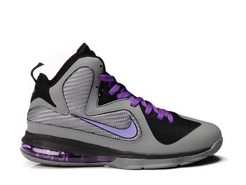 Nike Lebron 9 Miami Nights Style code:469764-002 The Nike Lebron 9 Miami  Nights is featuring a cool grey upper for panels and side fabric ankle  matches to ...