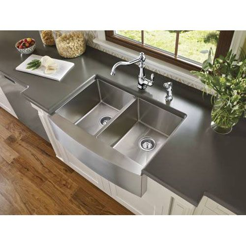 MG18220 1800 Series Apron Front / Specialty Sink Kitchen Sink - Stainless at…