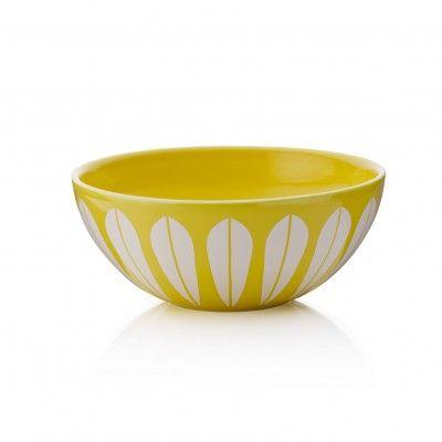 Lucie Kaas Yellow ceramic bowl Ø24