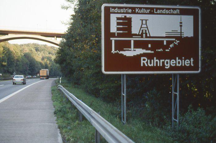Skilt i Ruhr