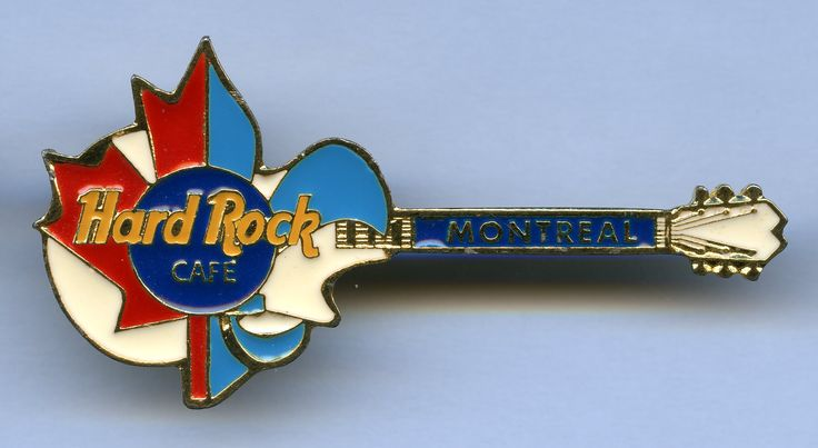 Pin Hard Rock Cafe Montreal
