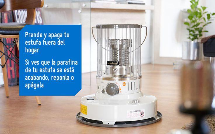 Las estufas a parafina requieren de ciertos cuidados para mentener el aire limpio en tu hogar. Sigue este consejo. #Sodimac #Homecenter #SodimacHomecenter