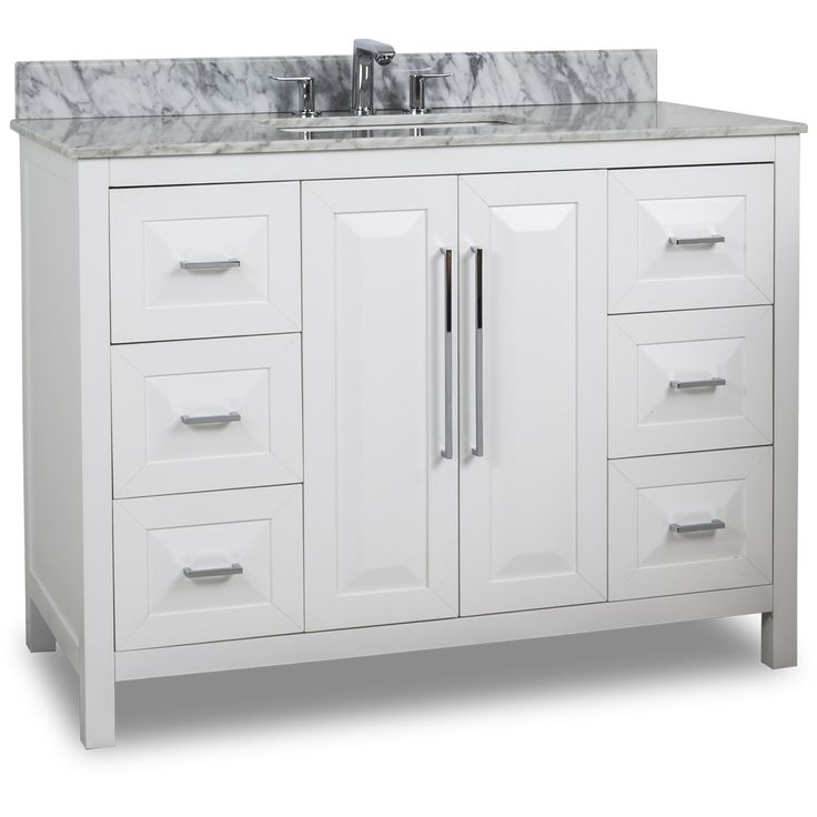 Moveable Solid Wood Ceramic Buffet Kitchen Sink Cabinet: 53 Best Images About White Bathroom Vanities On Pinterest