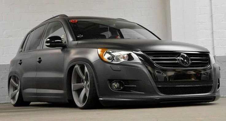 slammed vw tiguan rides pinterest slammed. Black Bedroom Furniture Sets. Home Design Ideas