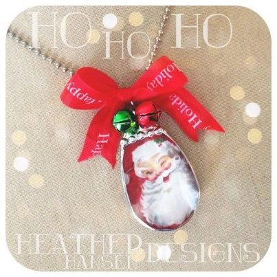 Santa Baby Vintage Chandelier Pendant <3