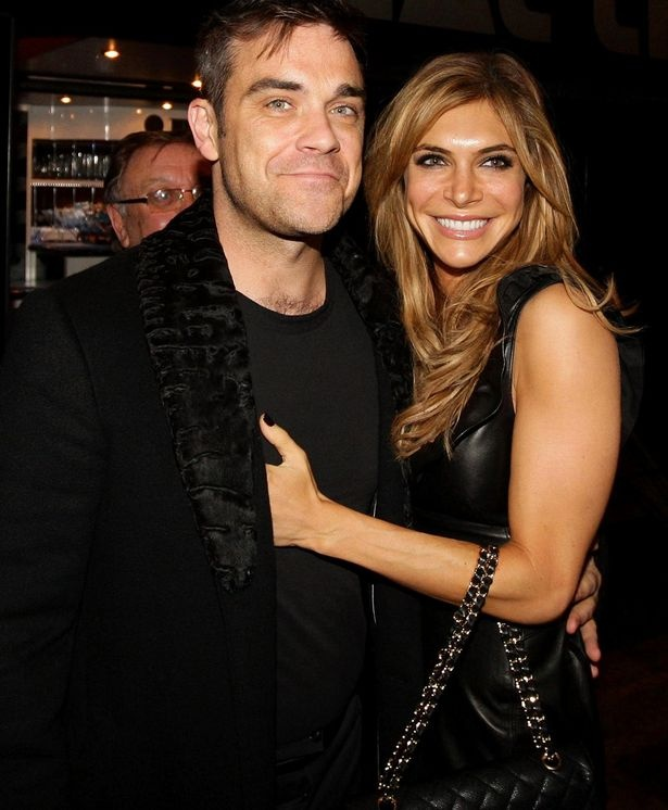 Robbie and wife Ayda Field