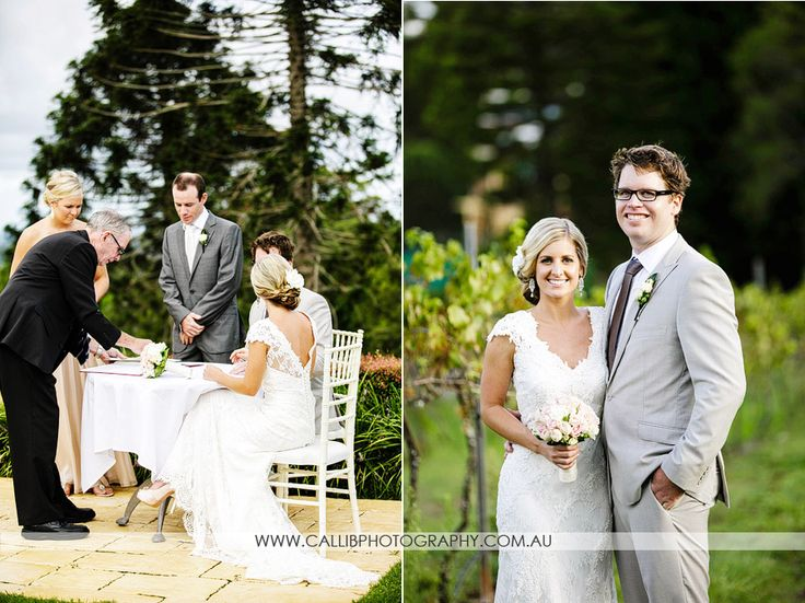 Real Wedding - Emily & Marty by Calli B Photography