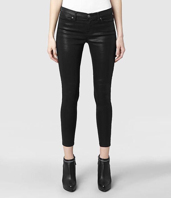 Damen Petrel Brodie (Black)   ALLSAINTS.com