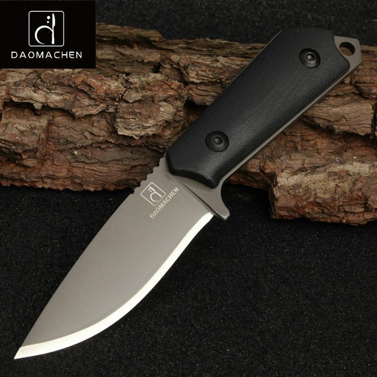 DAOMACHEN High Carbon Steel Outdoor Tactical Knife Survival Camping Tools Collection Hunting Knives With Imported K sheath