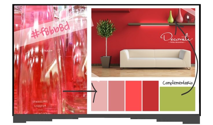Propuesta de color para el hogar por Decorati